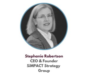 Stephanie Robertson - Social Impact Consultant